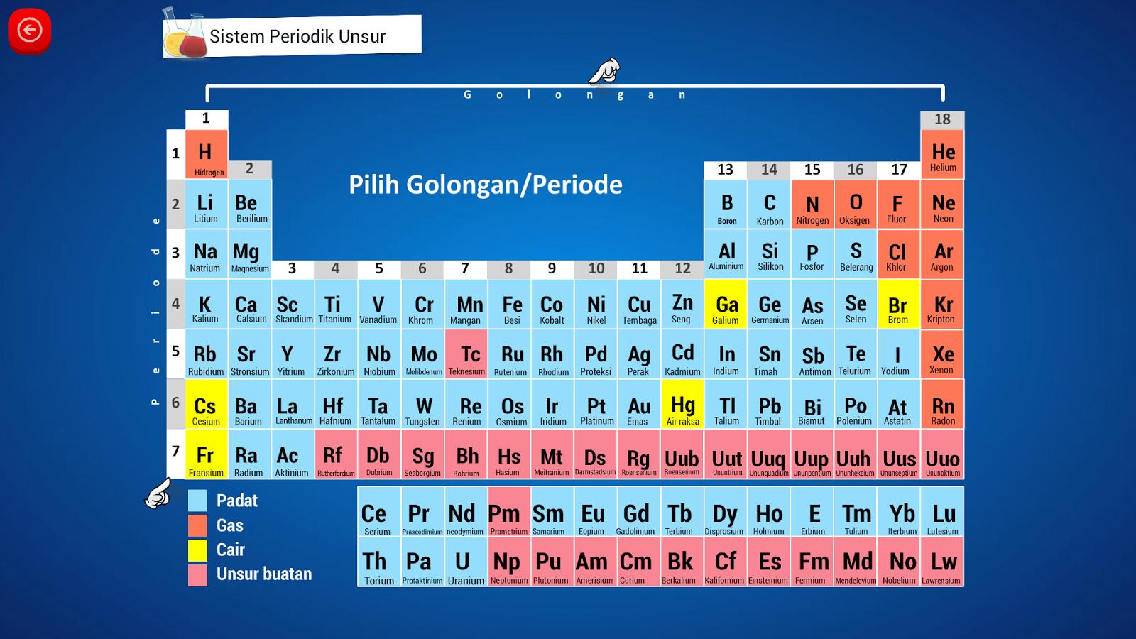 Kimia sma sistem periodik unsur android apps p google play kimia sma sistem periodik unsur screenshot urtaz Image collections