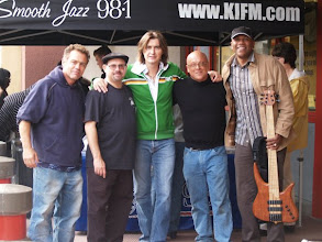 Photo: KIFM Pre-Festival Party May 2008- Playing some tunes with Sax great Warren Hill - Mr. magic and maputo never sounded so good!