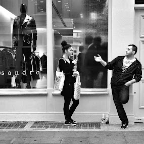 Sandro and Friends by Michael Summers - People Street & Candids ( olympus omd e-m5, candid, dummy, mannequin, street photography )