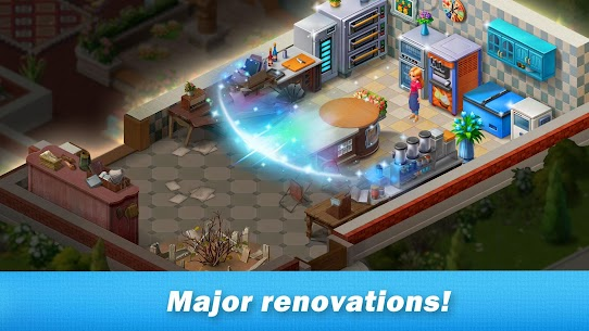 Restaurant Renovation MOD APK [Unlimited Stars] 1.10.4 2