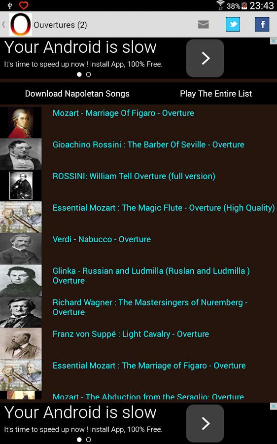 Opera Music - screenshot
