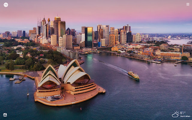 Sydney HD Wallpapers New Tab