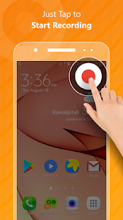 Screen Recorder Audio Video -No RooT & HD Recorder - náhled