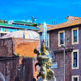 by M & D Photography - City,  Street & Park  Fountains