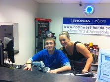 Photo: The Northwest Honda parts department has your back!!!