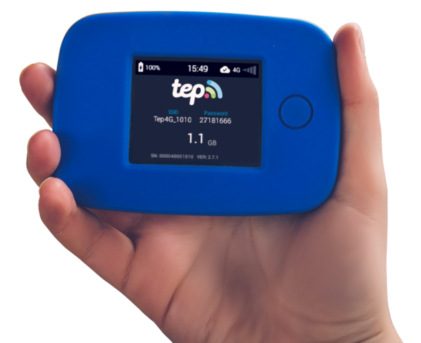 Travel essentials for women - Tep Wireless Teppy pocket wifi