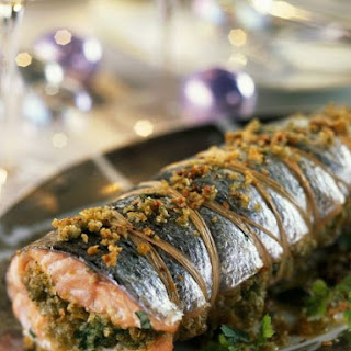 Stuffed Whole Fish with Nuts.