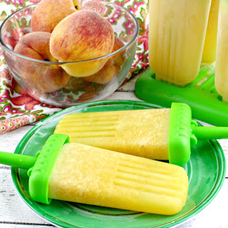Peach Bellini Ice Pops Recipe