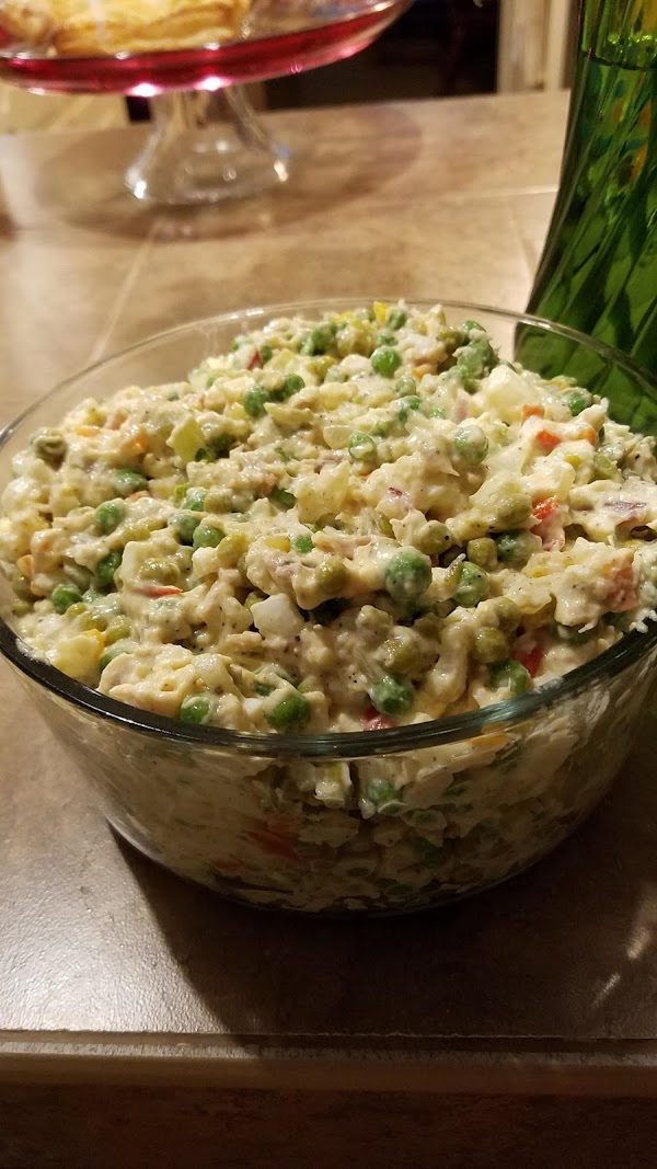 Chicken And Pea Salad Recipe