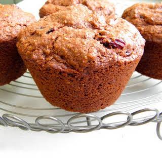 Chocolate Oat Bran Muffins.