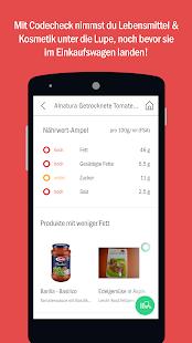 Codecheck: Inhaltsstoffe-Check Screenshot 2
