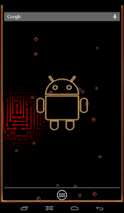 Droid 3D Live Wallpaper Screenshot