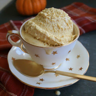 Pumpkin Chai Latte Ice Cream