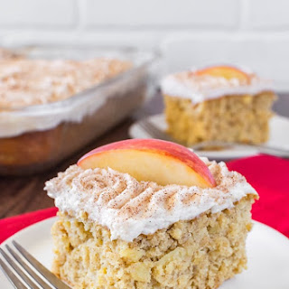 Snickerdoodle Apple Cake.