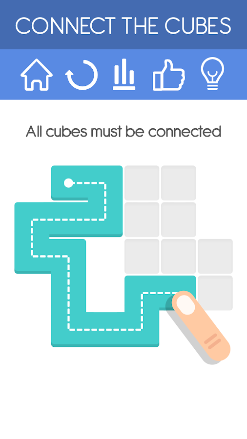 Connect the Cubes- screenshot
