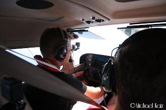 Photo: Anders navigerer over Kattegatt til Danmark.