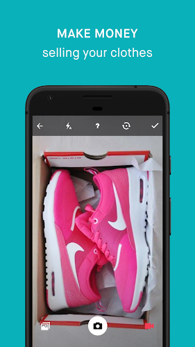Vinted Android App Screenshot