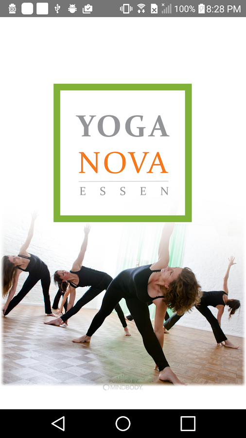 YOGANOVA ESSEN- screenshot