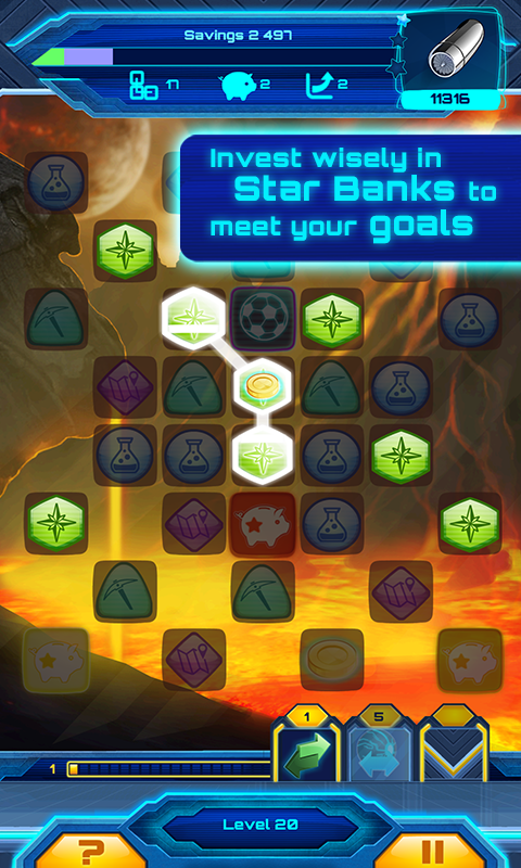 Star Banks Adventure- screenshot