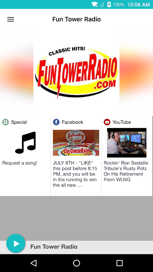 Fun Tower Radio- screenshot