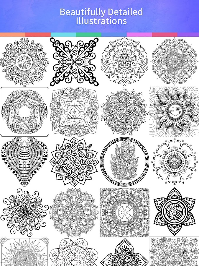 Mandala Coloring Book – Android Apps on Google Play