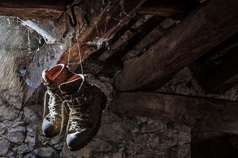 Vecchi scarponi quanto tempo è p... di Moreno re