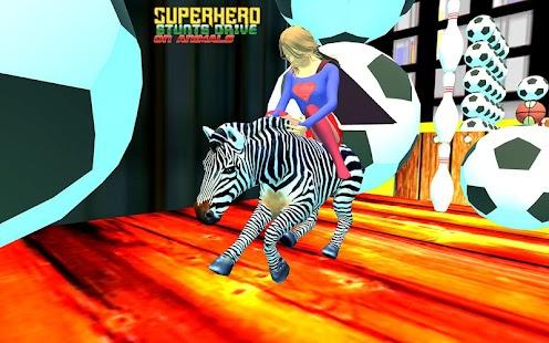 Superhero Stunts Drive on Animals 2018 - náhled