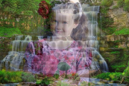 Waterfall Transparant Photo