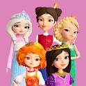 Little Tiaras: Princess games, 3D runner for girls icon