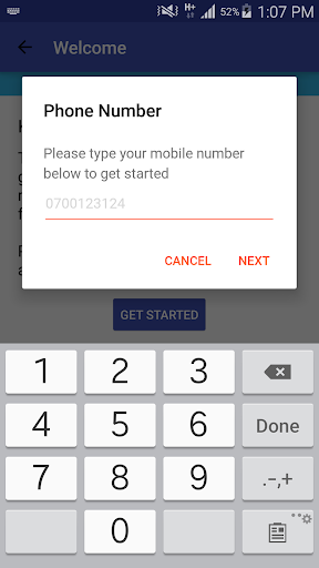 Saida - Loans to your M-Pesa screenshot 3