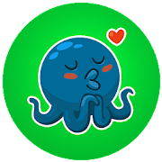 Octopus Sticker for WhatApp