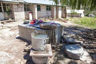 Photo: school laundry area