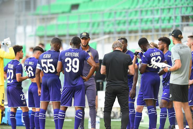 Le RSC Anderlecht rodé contre un adversaire de choix : le projet Kompany avance bien