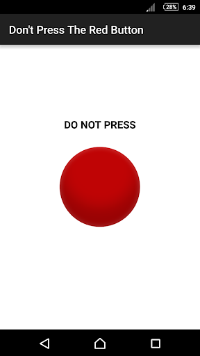 Dont Press The Red Button