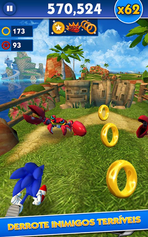 Sonic Dash - screenshot