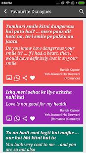 Ranbir Kapoor Filmy Latest Dialogues - náhled