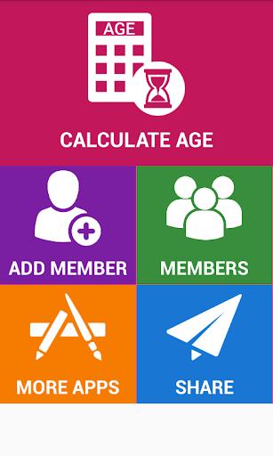 Age Calculator Bithdays