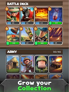 War Heroes Mod Apk Strategy Card Game 3.0.1 (Unlimited Energy) 4
