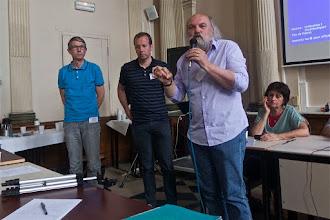 Photo: Clôture du colloque par Jean-Luc Villeneuve, président de l'Iréa