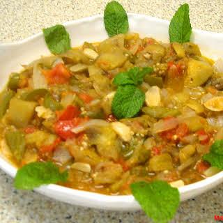 Lebanese Moussaka – Sauteed Eggplant – Musakka3at Batinjan.