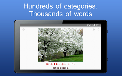 iSpeak learn words in 8 language English German- screenshot thumbnail