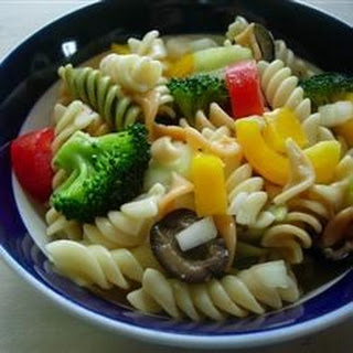 Rainbow Rotini Pasta Recipes