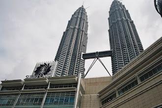 Photo: #001-Malaisie. Les tours Pétronas à Kuala Lumpur