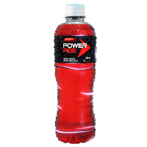 bebida powerade ion4 frutas tropicales 500ml