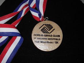 Photo: Finished medal BGC side