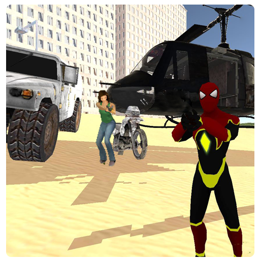 Spider Hero: Real Grand Gangsters Crime City 3D