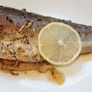 Easy Baked Whole Rainbow Trout
