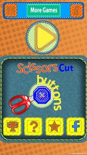 Scissors Cut Buttons - náhled