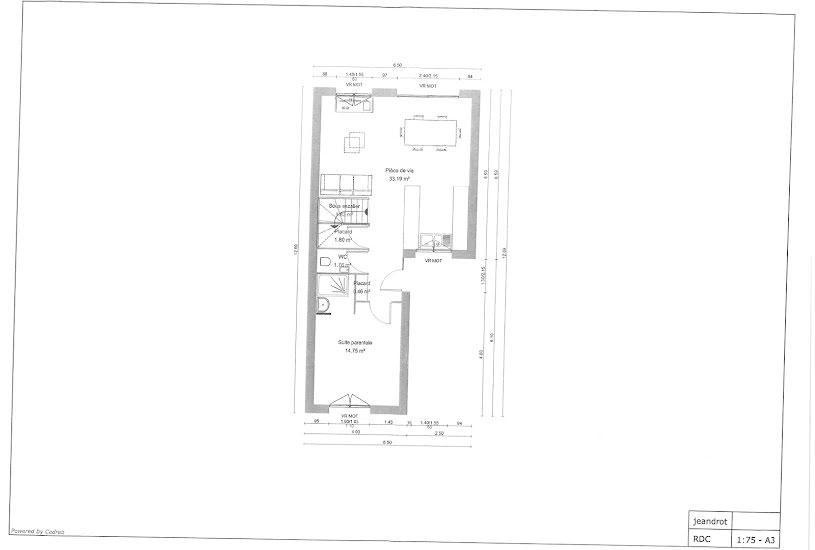 Vente Terrain + Maison - Terrain : 185m² - Maison : 90m² à Bezons (95870)