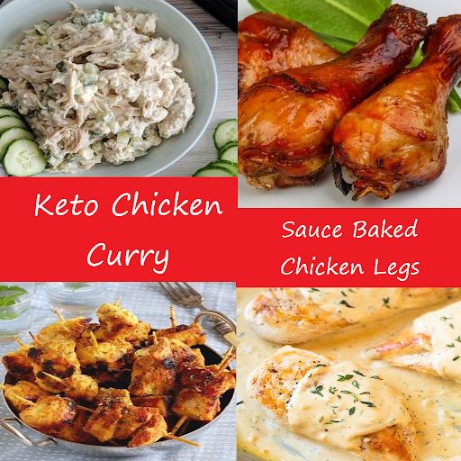 Keto Chicken Recipes screenshots 3